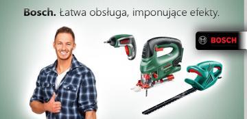 Bosch. Łatwa obsługa, imponujące efekty -baner dla strony www: klubboa.pl