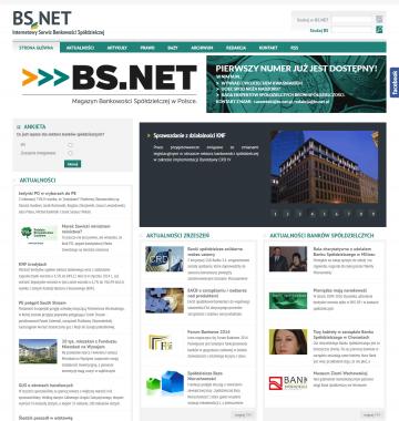 Strona WWW BS.NET