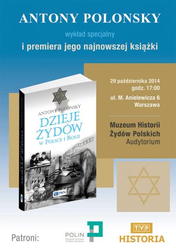 Antony Polonsky - Dzieje Żydów