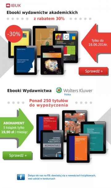 Ebooki akademickie i naukowe dla IBUK.PL