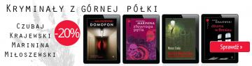 Kryminały - baner reklamowy na stronę www.ibuk.pl