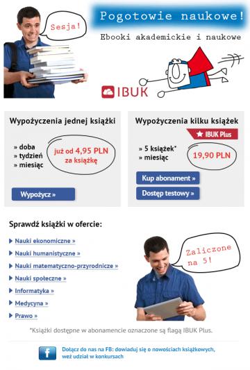 Newsletter dla strony www: IBUK.PL