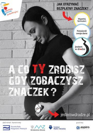 Reklama dla Fundacji Jestem w Drodze - strona www - jestemwdrodze.pl