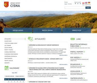 Portal internetowy gminy Cisna