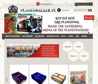 Planeswalker.pl - projekt graficzny sklepu