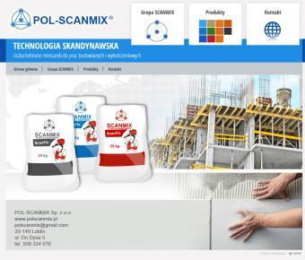Technologia skandynawska - strona www